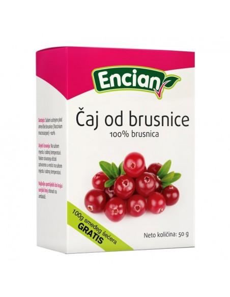 Encian Čaj Brusnica 100%