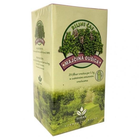 Suban Majčina dušica čaj filter vrećice